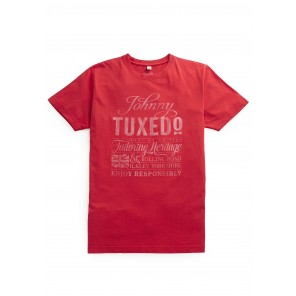 Bolling Road T-Shirt in Red