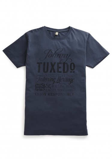 Bolling Road T-Shirt in Blue