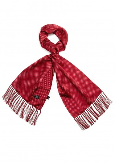 Tootal Red Spot Scarf