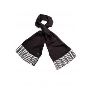 Tootal Black Silk Scarf