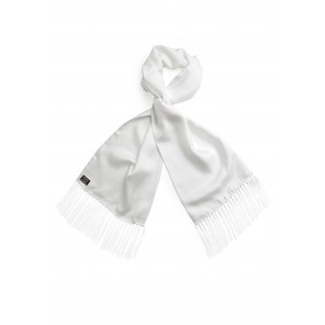 Tootal Ivory Silk Scarf